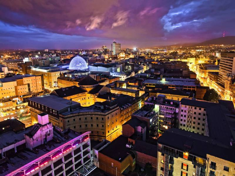 Foto: belfast night