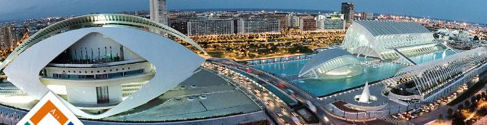 Panorámica Ciudad de las Ciencias de Valencia