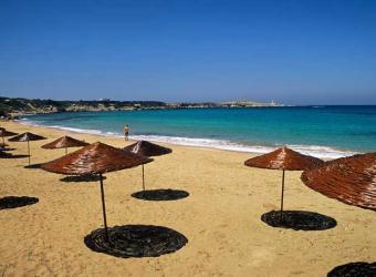 Una de las playas de la Península de Karpas