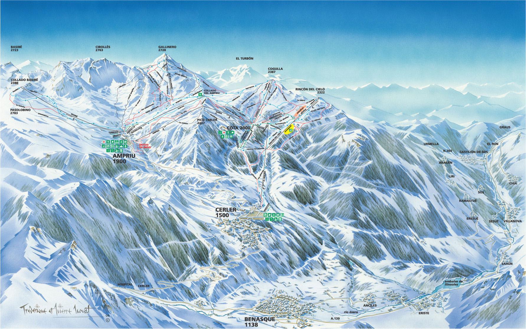 estaciones de esqui pirineo aragones: