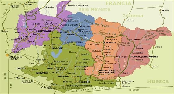 Mapa De Los Pirineos.El Pirineo Navarro Rutas Senderos Guias Opiniones Fotos
