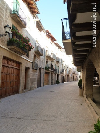 Calle Mayor,La Fresneda.