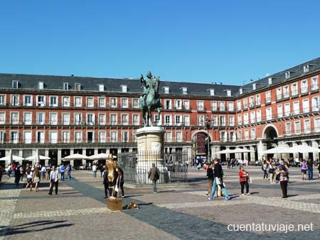 La Plaza Mayor (Madrid)