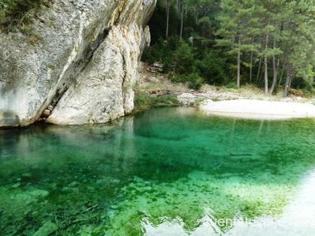 Ruta ruta del parrizal de beceite beceite opiniones for Piscinas naturales en teruel