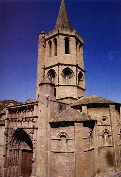 Iglesia de Santa María La Real.